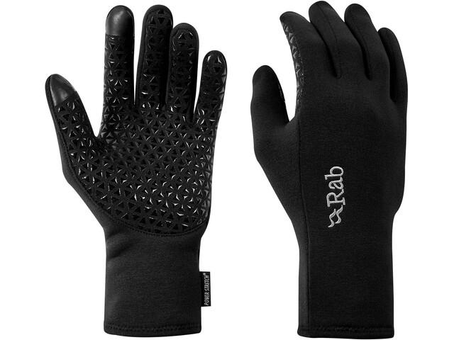 Rab Power Stretch Contact Grip Gloves Men black